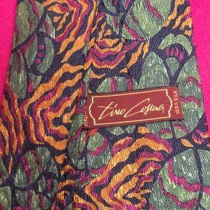 Tina Cosura floral silk tie
